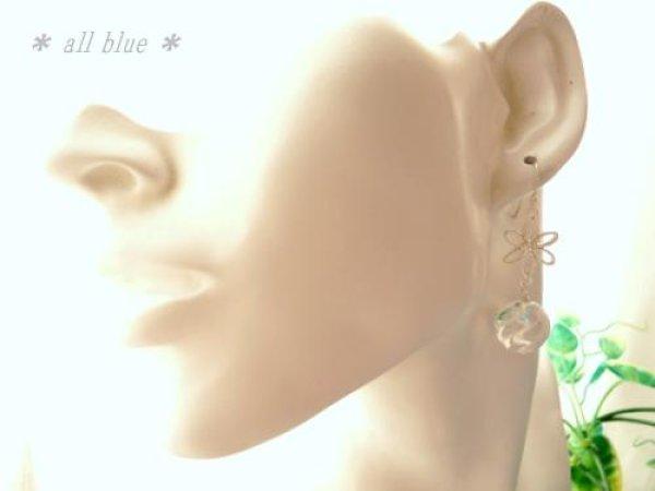 画像5: 【愛を呼ぶ石・幸福の石】大粒水晶×Silver925 フラワーピアス